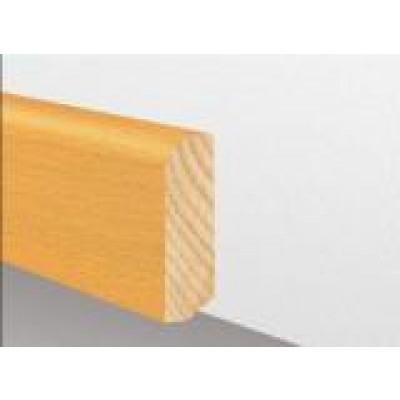 Massivholzleiste Germany Eiche Pure - natur geölt - gerade, oben gerundet - 20x60 mm