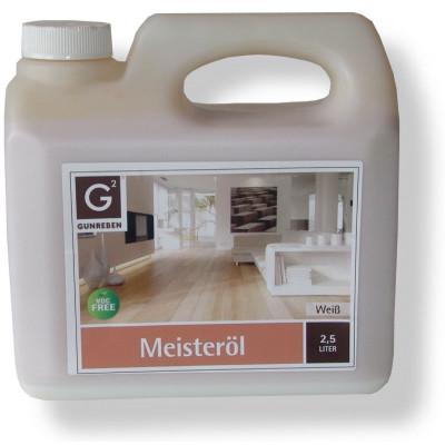 Basic Meisteröl weiß 2,5 Liter