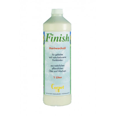 Premium Finish Hartwachsöl für Classic Line Korkböden vorbehandelte - Verbrauch 1 L pro 10 qm / 1 L