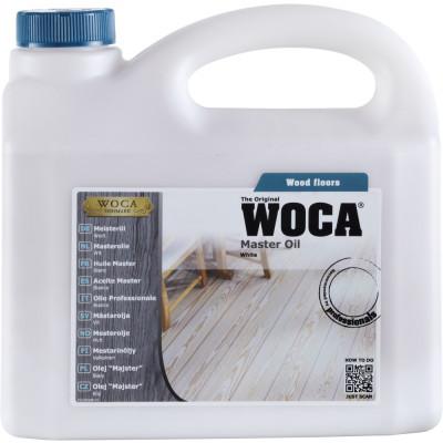 WOCA Meister Bodenöl weiß - 10-12 qm pro Liter / 1 Liter