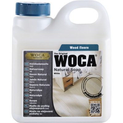 WOCA Holzbodenseife weiß - 1 L
