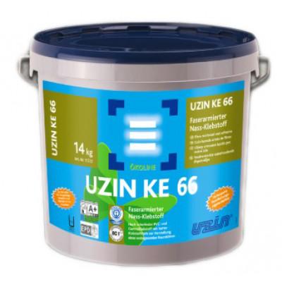 Vinylklebstoff faserarmiert UZIN KE 66 Nassbettklebstoff (Blauer Engel) - 6 kg