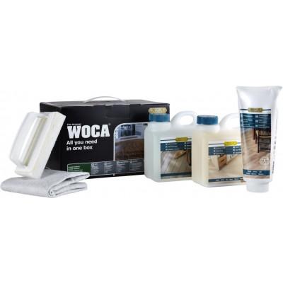 WOCA Pflegebox für natur geölte Böden