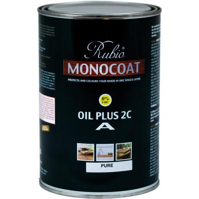 RMC Holzbodenöl Plus Pure  (Komp. A) - 1,0 L für ca. 30-50 m²