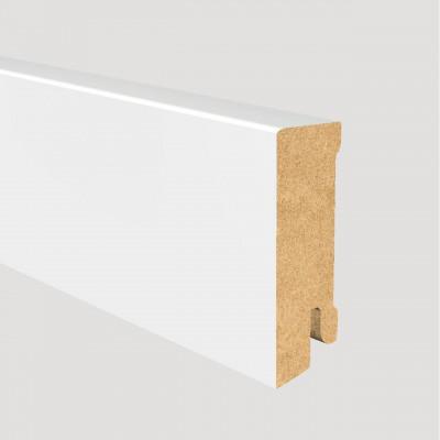 MDF-Sockelleiste Modern weiß