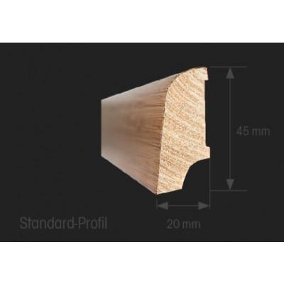 Oakland Sockelleisten-Profil 20 x 45 x 2700 mm