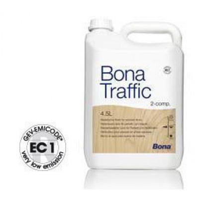 Bona Traffic wasserbasierter 2-Komponenten PU-Lack matt 5 Liter