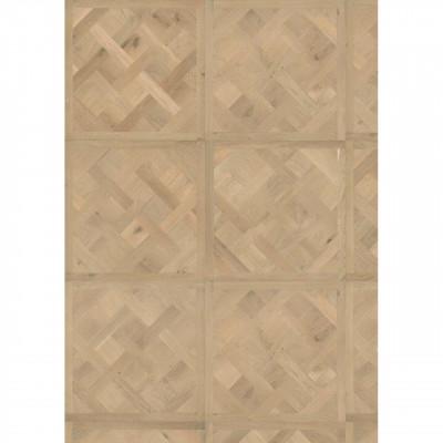 Luxery-Design 3-Schicht-Tafelboden VERSAILLES Eiche Active gebürstet roh - Detailbild