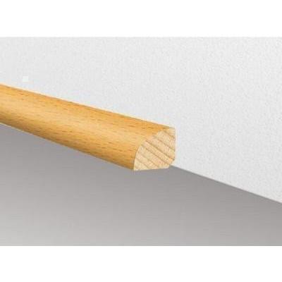 Massivholzleiste SL 102 - Fichte roh / 12 x 12 x 2500 mm (Viertelstab)