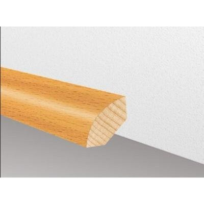 Massivholzleiste SL 105 - Buche ged. lackiert / 18 x 18 x 2500 mm (Viertelstab)