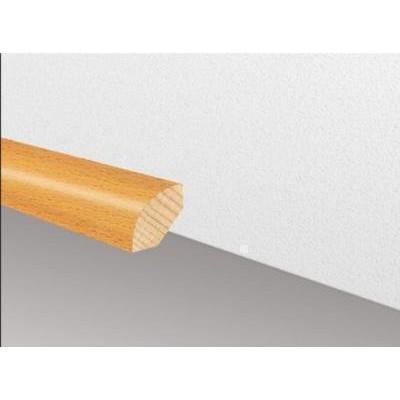 Massivholzleiste SL 106 - Kiefer lackiert / 23 x 23 mm x 2500 mm (Viertelstab)