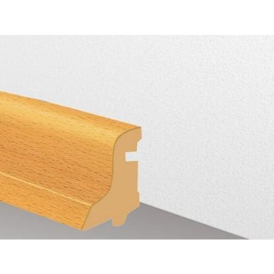 Furnierholzleiste SL 550 UM - Doussie lackiert / 22 x 40 x 2700 mm