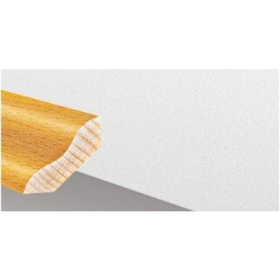 Massivholzleiste SL 515 - Buche unged. lackiert / 30 x 30 x 2500 mm