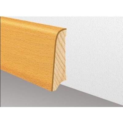 Furnierholzleiste SL 531 UM - Eiche lackiert / 8/13 x 58 x 2700 mm