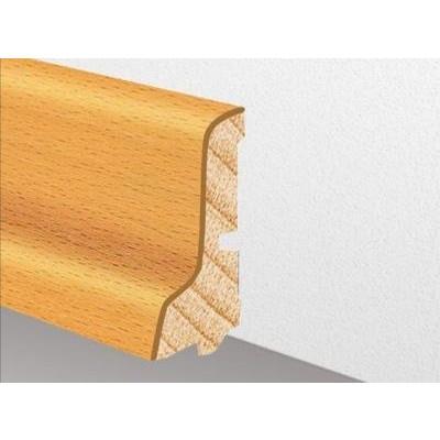 Furnierholzleiste SL 552 UM - Räuchereiche lackiert / 23 x 60 x 2700 mm