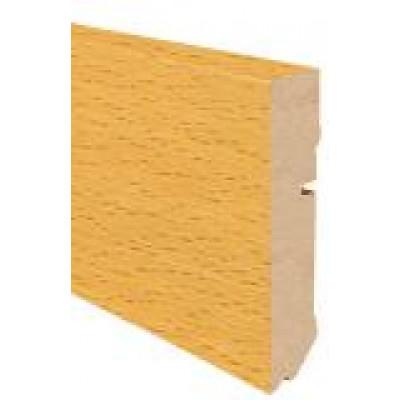 Furnierholzleiste CUBE 632 UM - Eiche matt lackiert / 16 x 78 x 2700 mm