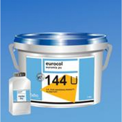 2K PU-Klebstoff Forbo Euromix 144 für Elegance Vinylböden, lösemittelfrei, emmisionsarm, ca. 300 g pro m² bei Designbelägen / 7,875 kg