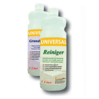 Universal Pflegeset- Grundschutz + Reiniger für alle versiegelten und thermocor behandelten Böden / je 1 Liter