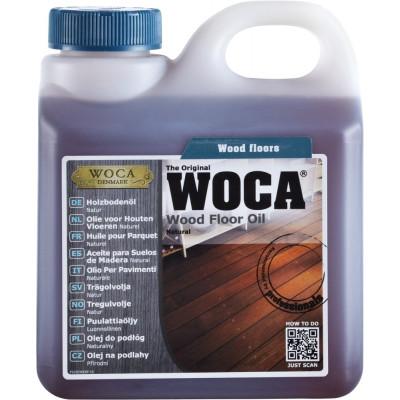 WOCA Pflegeöl natur - Unterhaltspflege - 30-40 qm pro Liter / 1 Liter