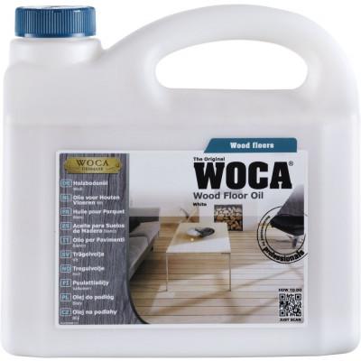 WOCA Pflegeöl weiß Unterhaltspflege - 30-40 qm pro Liter / 1 Liter