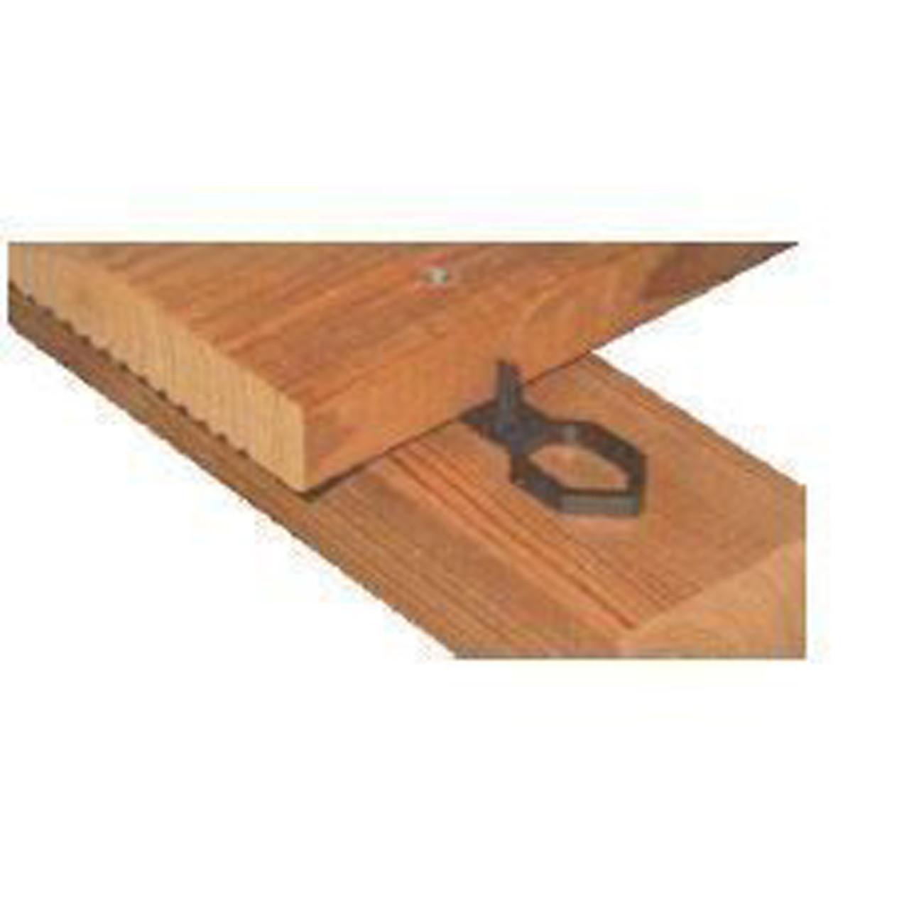 Basic Abstandhalter standard sichtbar für Terrassendielen