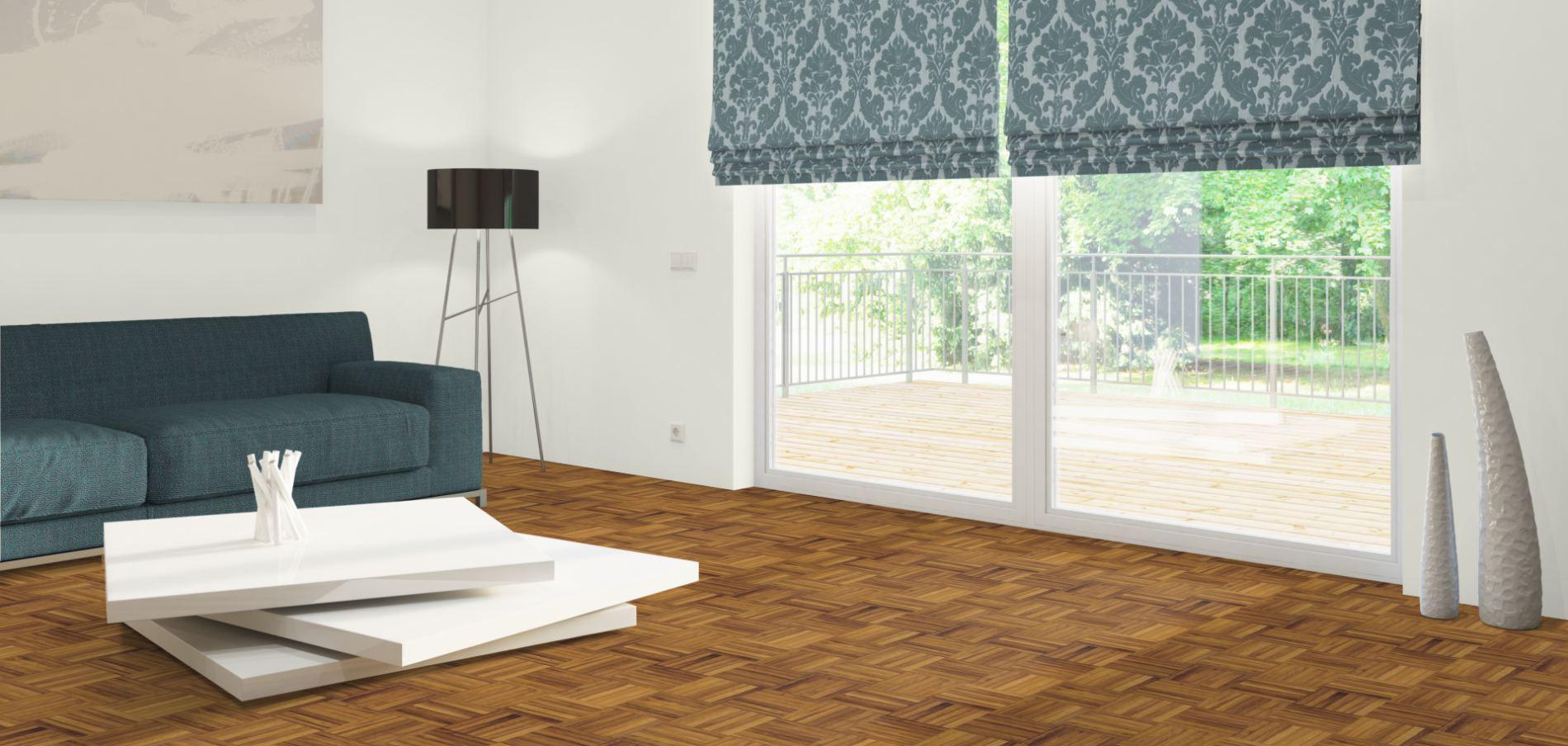 mosaikparkett basic iroko kambala holzboden. Black Bedroom Furniture Sets. Home Design Ideas