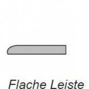 Moso Massive Bambus-Sockelleiste flach Breitlamelle gedämpft 5x25 versiegelt - 2000x25x5 mm