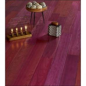 Brillante Massivholzdiele Purpleheart Ambientebild
