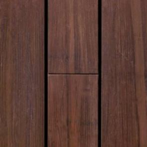 Bambus-Terrassendiele glatt