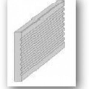 Bambus Xtreme Endprofil für Unterkonstruktionsbalken
