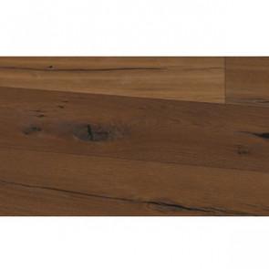 Basic 3-Schicht-Landhausdiele Räuchereiche rustikal Click farblos vorgeölt 4S Detailbild