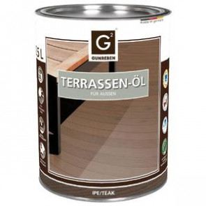Basic Holz-Terrassenöl für Basic Holz-Terrassendielen IPE | Teak - 2,5 L