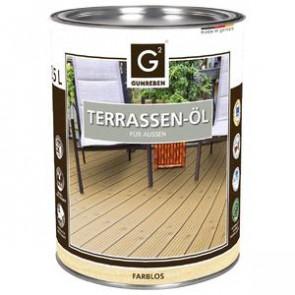Basic Holz-Terrassenöl natur für alle Basic Holz-Terrassendielen außer Thermoesche - 2,5 L