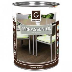 Basic Holz-Terrassenöl Thermoesche für Basic Holz-Terrassendielen Thermoesche - 2,5 L