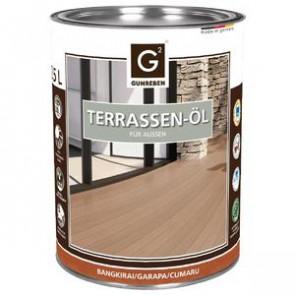 Basic Holz-Terrassenöl für Basic Holz-Terrassendielen Bangkirai | Garapa | Cumaru - 2,5 L