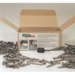 Basic Edelstahlschrauben Standard für Holz-Terrassendielen auf Holz-Unterkonstruktion