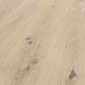 Hain 3-Schicht Landhausdiele Ambiente Eiche vario gebürstet weiss geölt Detailbild