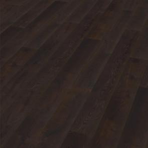 Oakland Landhausdiele Eiche rustic deep smoked scrubbed oiled Verlegebild