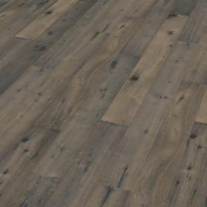 Oakland Landhausdiele Eiche Old Vintage Bluegrey aged scrubbed sawn oiled Verlegebild