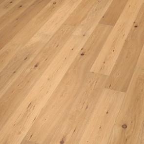 Oakland Landhausdiele Eiche rustic scrubbed mat lacquered Verlegebild