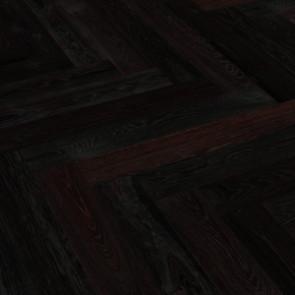Hain XL Fischgrät Eiche kerngräuchert gebürstet farblos geölt - Detailbild