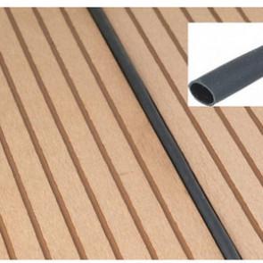 Basic Fugendichtungsschlauch für Basic WPC-Terrassen schwarz 4 - 7 mm Fuge