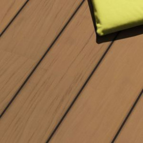 Terrassendiele Garapa glatt