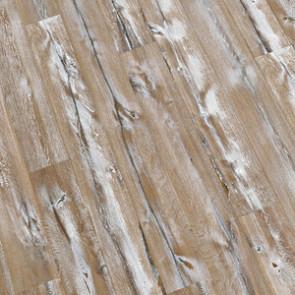 Altholzdiele stark gebürstet, extra weiß geölt Detailansicht