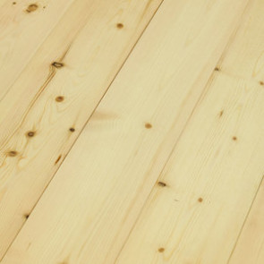 Basic Massivholzdiele Kiefer A/B (nordisch) roh - 21x137x3250-5350 mm Detailbild