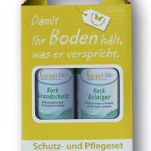 Kork-Pflegebox (Grundschutz + Reiniger)