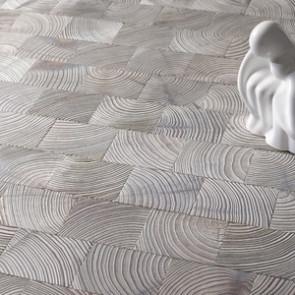 Holzpflaster Design Lärche Iceland Verlegebeispiel