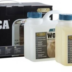 WOCA Pflegebox für Vinylböden und lackierte Holzböden
