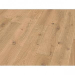 Basic Massivholzdiele Eiche Markant 5% weiß geölt Detailbild