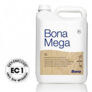 Bona MEGA wasserbasierter 1-Komponenten PU Lack halbmatt 5 Liter